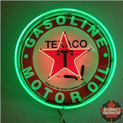 "Texaco Neon Sign (24""Dia)"