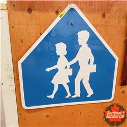 "School Kids Crossing Sign (24""x24"")"