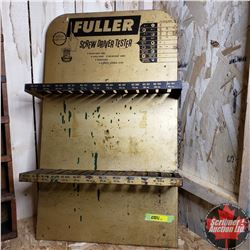 """Fuller"" Screwdriver Display Rack (26""H x 15-1/2""W)"