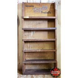 """Genuine Tungsten Products"" Store Display Shelf (28-1/2"" x 13-1/2"" x 3""D)"