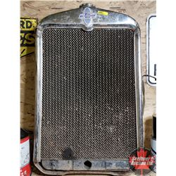 Old Chevrolet Radiator