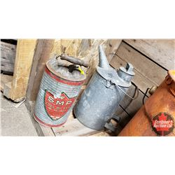 Galvanized Coal Oil Cans (2)