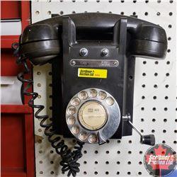 Rotary Wall Phone