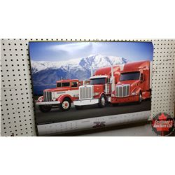 Group of 8 Calendars (Peterbilt, Goodyear & Bridgestone)