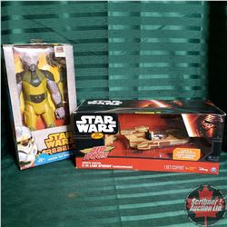 "Star Wars Toys (In Box) ""Rebels"" & ""Air Hogs"""
