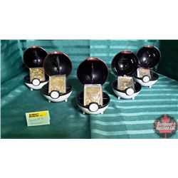 Pokeman Collectibles (5) 23k Gold Plated Collector Cards