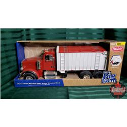 Toy Truck : Peterbilt Model 367 (Light Sounds w/Tilting Grain Box) (1/16 Scale)
