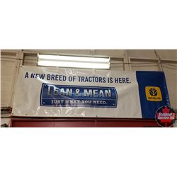 "Banner ""New Holland"" (33""x96"")"