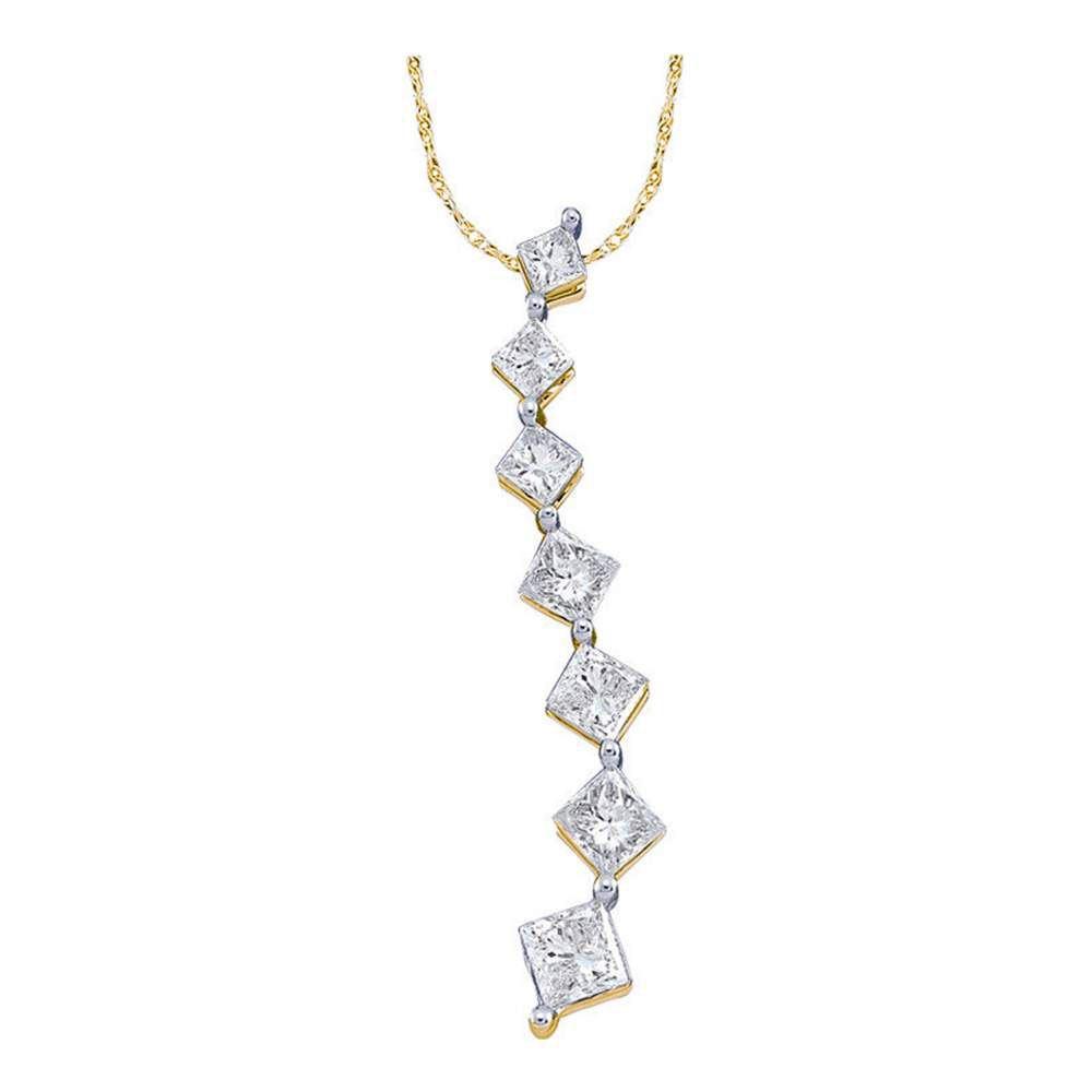 10k White Gold Womens Round Diamond Cursive Letter D Pendant 1//5 Cttw