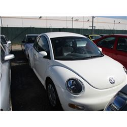 VW NEW BEETLE 2001 T-DONATION
