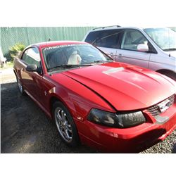 FORD MUSTANG 2000 SALV T/DONATION