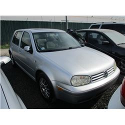 VW GOLF 2004 O/S T-DONATION
