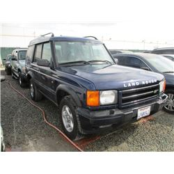 LAND ROVER DISCOVERY 2001 T-DONATION