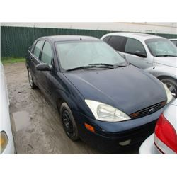 FORD FOCUS 2002 T-DONATION