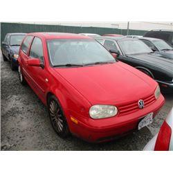 VW GTI 2002 T-DONATION