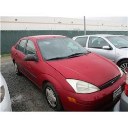 FORD FOCUS 2001 T-DONATION