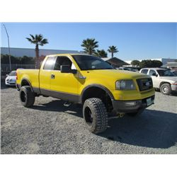 FORD F150 2004 O/S-TITLE