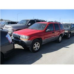 JEEP GR CHEROKEE 2001 APP  DUP/T-DON