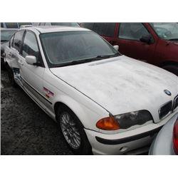 BMW 323I 1999 SALV T/DONATION