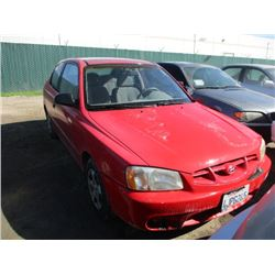 HYUNDAI ACCENT 2000 T-DONATION