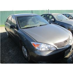 TOYOTA CAMRY 2003 SALV T/DONATION