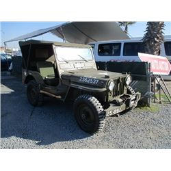 WILLYS CJ2A 1952 APP  DUP/T-DON