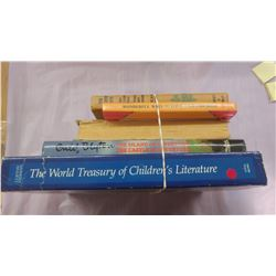 LOT OF FIVE BOOKS - THE HARDY BOYS, THE ISLAND OF ADVENTURE/THE CASTLE OF ADVENTURE, ETC.