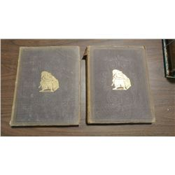 TWO PUNCH BOOKS, VOLUME 45 & 46 (1863 & 1864)