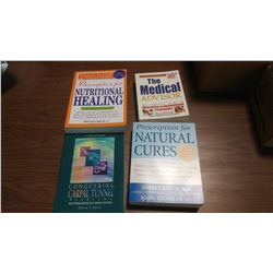 LOT OF ASSORTED ALTERNATIVE HEALTH BOOKS