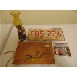 RCMP COLLECTIBLES, LAMP VIEWMASTER SLIDES ETC