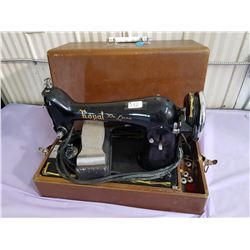vintage sewing machine- Royal Delux Model B5327456