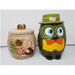 Cookie jars- made in Japan (2)