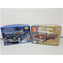2 AMT car model kits