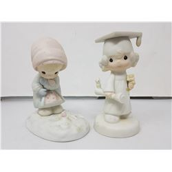 Lot of 2 precious moments figurines