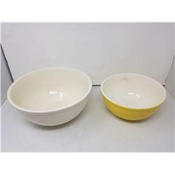 2 Medalta bowls