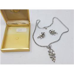 Sherman necklace & earrings