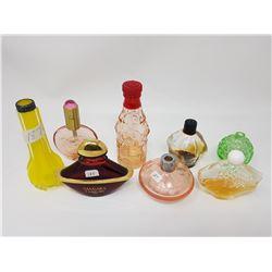 lot of 8 perfume bottles