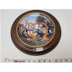 Hummel collectors plate- framed