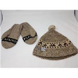 Cowichon toque & mitts - 1975