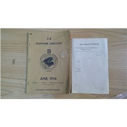 REGINA NWT & TELEPHONE BOOK