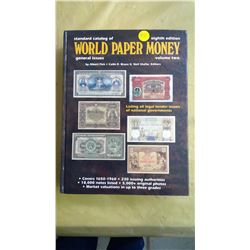 Standard Catalog of World Paper Money, Eighth Edition, Volume 2. by Albert Pick, Colin Bruce and Nei