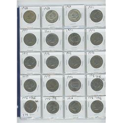 1968,1969,1971 USA HALF DOLLAR(20)