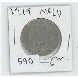 1919NFLD 50 CENT