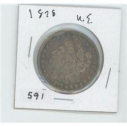 1878 USA DOLLAR