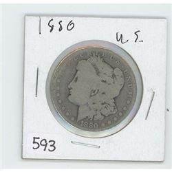 1880 USA DOLLAR