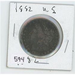 1882 USA DOLLAR