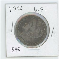 1896 USA DOLLAR