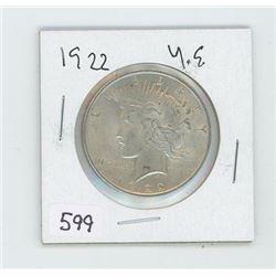 1922 USA DOLLAR