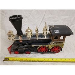 J.B. TURNER LOCOMOTIVE JAMES BEAM WHICKEY BOTTLE