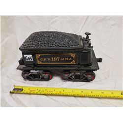 C.R.R. 197 OF N.J. COAL CAR JAMES BEAM WHISKEY BOTTLE